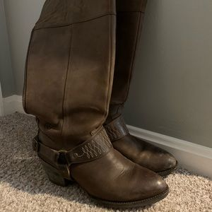 Ariat Knee High Leather Boots